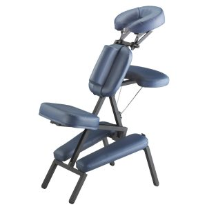 portable massage chair cheap portable massage chair navy blue leather chair with chest holder headrest and knee support best portable massage chair reviews