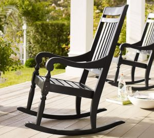 pottery barn chair kids handcrafted patio rocking chair