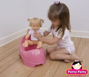 potty chair for girl pp doll