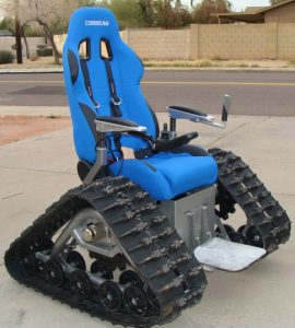 power wheel chair offroad tank wheelchair high