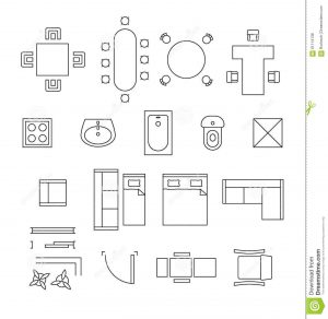 purple computer chair office floor plan furniture symbols l daf