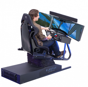 race car chair motion flight simulation cockpit