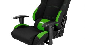 racer gaming chair akracing blackgreen