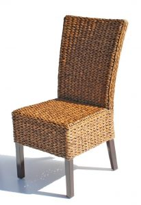 rattan wicker chair rattan cabo seagrass dining chair