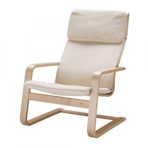 reading chair ikea pello fauteuil beige pe s