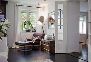 reading nook chair book shelves storage ideas seating area