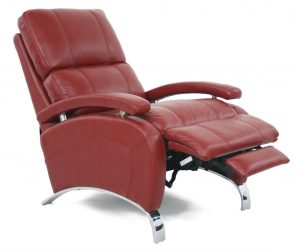 recliner massage chair barcalounger oracle ii stargo red recliner