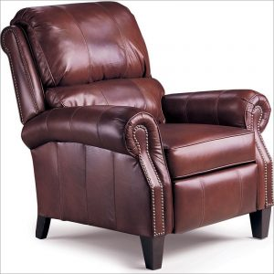 reclining beach chair lane leather recliner