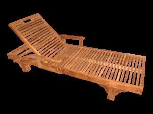 reclining beach chair p san fernando arm lounger