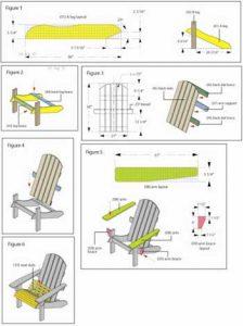 reclining beach chair shop class illustration