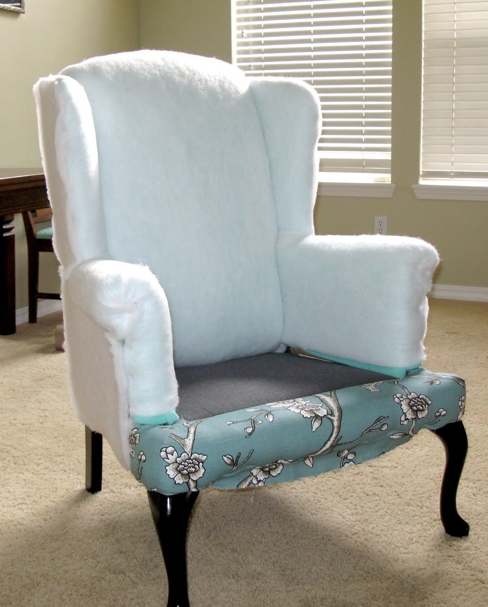 reupholster office chair