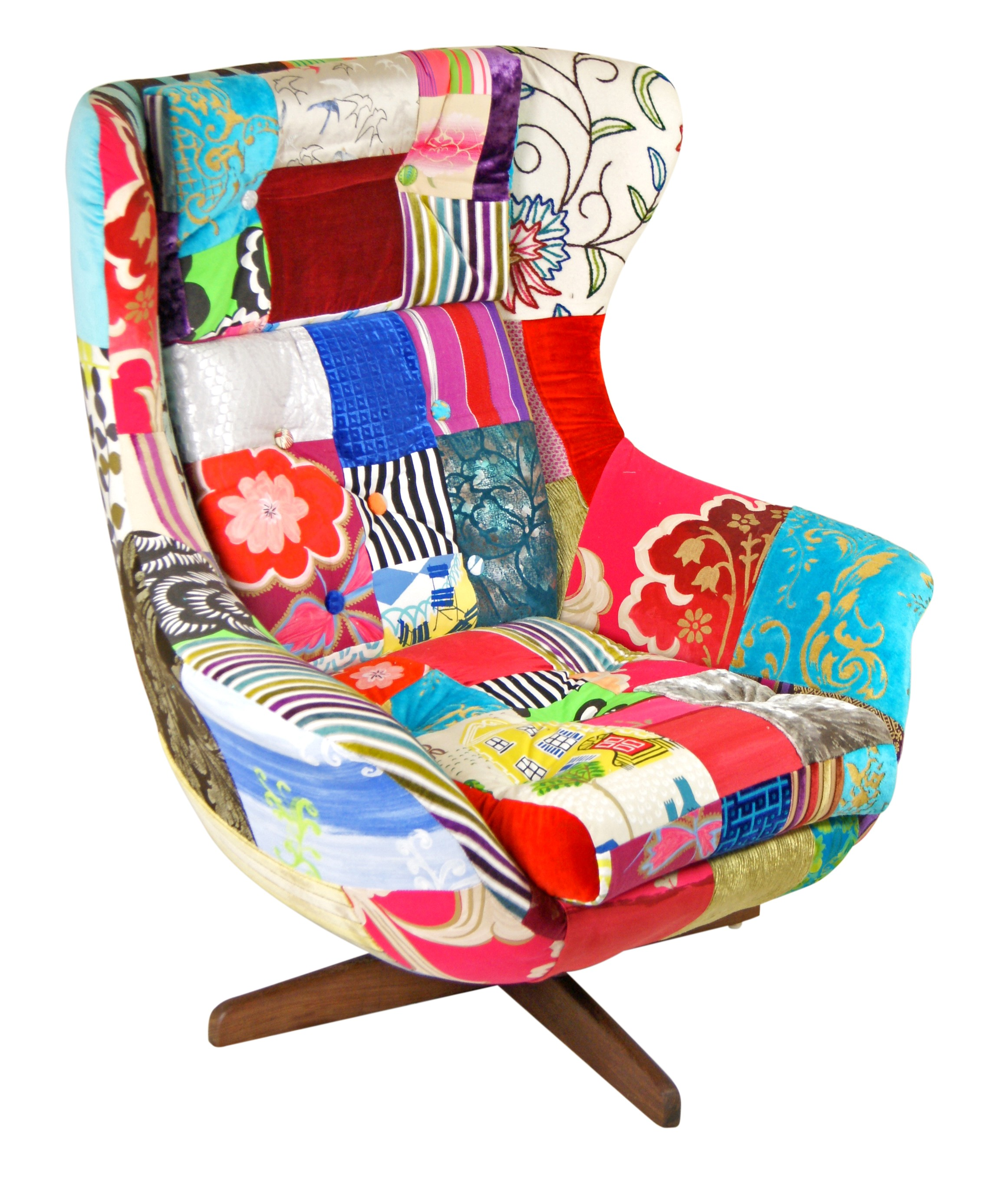 rocking accent chair egg