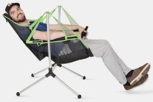 rocking camp chair nemo stargaze recliner luxury