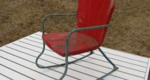 rocking lawn chair antique metal childsdolls outdoor rocking chair very