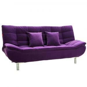 round back chair purple sofa bed