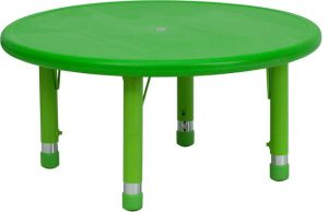 round dining table and chair contemporary kids tables