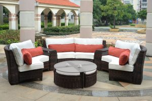 round lounge chair outdoor round lounge rattan chair