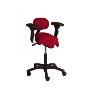 saddle ergonomic chair spinesaver saddle stool back arms