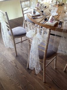 sashes for chair lace chair sash newton hall