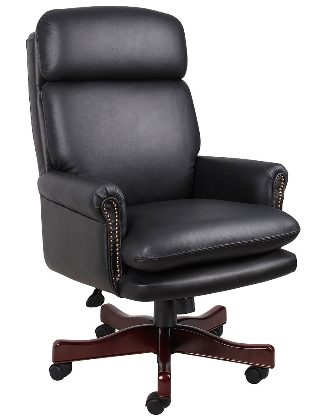 sealy office chair boss top executive office chairs with traditional pillow