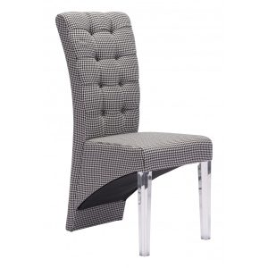 seat cover for dining room chair waldorf dining chair houndstoothimage x
