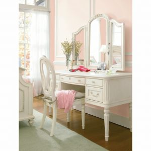 shabby chic chair furniture white polished wooden three fold mirror make up table combined with white wooden armless chair white wood vanity mirror x