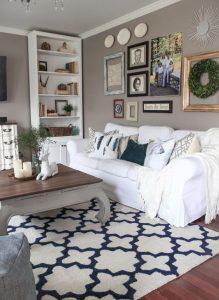 shabby chic chair white slipcovered ektorp sofa for a shabby chic living room