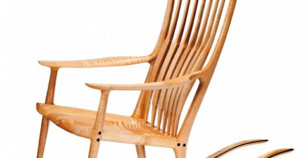 shaker rocking chair l