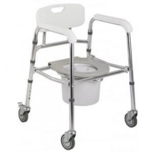 shower chair with wheels commodechair x x