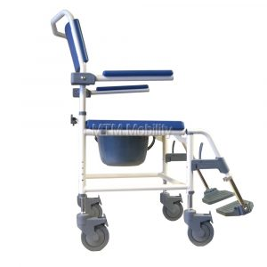 shower commode chair drive medical aston bariatric shower commode chair p zoom