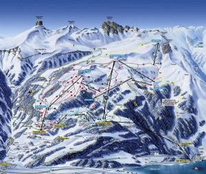 ski lift chair flumserberg pistemap