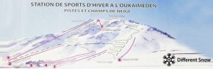 ski lift chair oukaimeden piste map