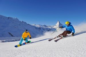 ski lift chair winter sports