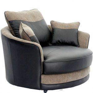 small glider chair constellation dark brown swivel tub chair