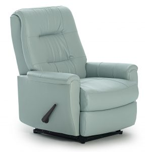 small glider chair petite felicia power space saving recliner with button