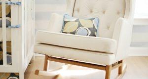 small rocking chair for nursery schaukelstuhl design kinderzimmer einrichten dekokissen