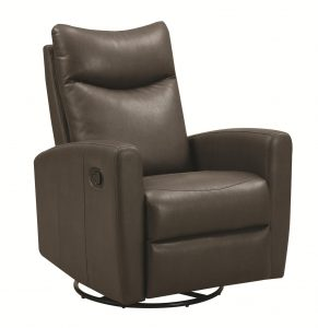 small swivel chair grey leather swivel recliner