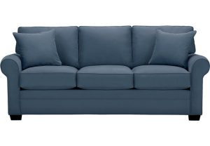 sofa chair bed lr sof bellingham indigo~cindy crawford home bellingham indigo sofa
