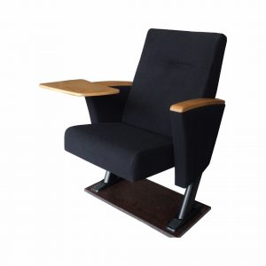 stadium chair with back akon auditorium chair with wooden writing table ffhxf