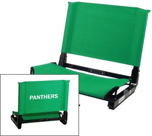 stadium chair with back personalized patented stadiumchair stadium seat