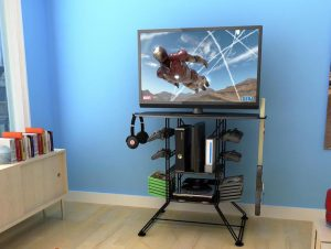 stand up desk chair best gaming tv stands