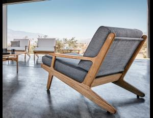 steamer chair cushion bay lounge teak chairs patio x