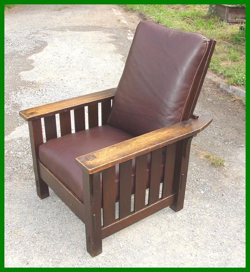 stickley morris chair
