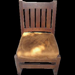 stickley rocking chair l