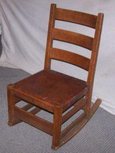 stickley rocking chair s l