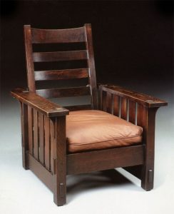stickly morris chair arts and crafts stickley e