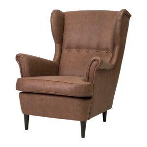 strandmon wing chair strandmon wing chair brown pe s