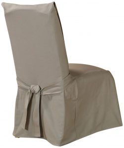 sure fit dining chair covers sure fit cotton duck long dining room chair cover linen