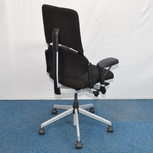 task chair with arms steelcase please black