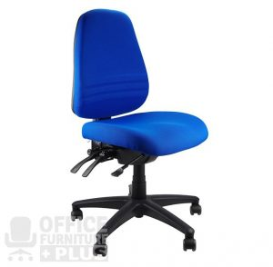 task chair with arms endeavour blue no arms